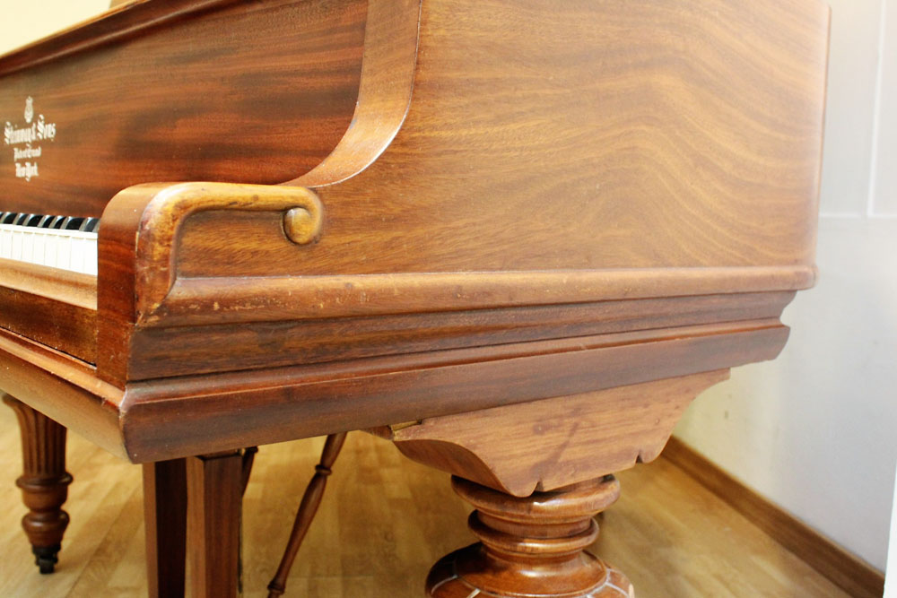 Piano d'occasion quart de queue STEINWAY