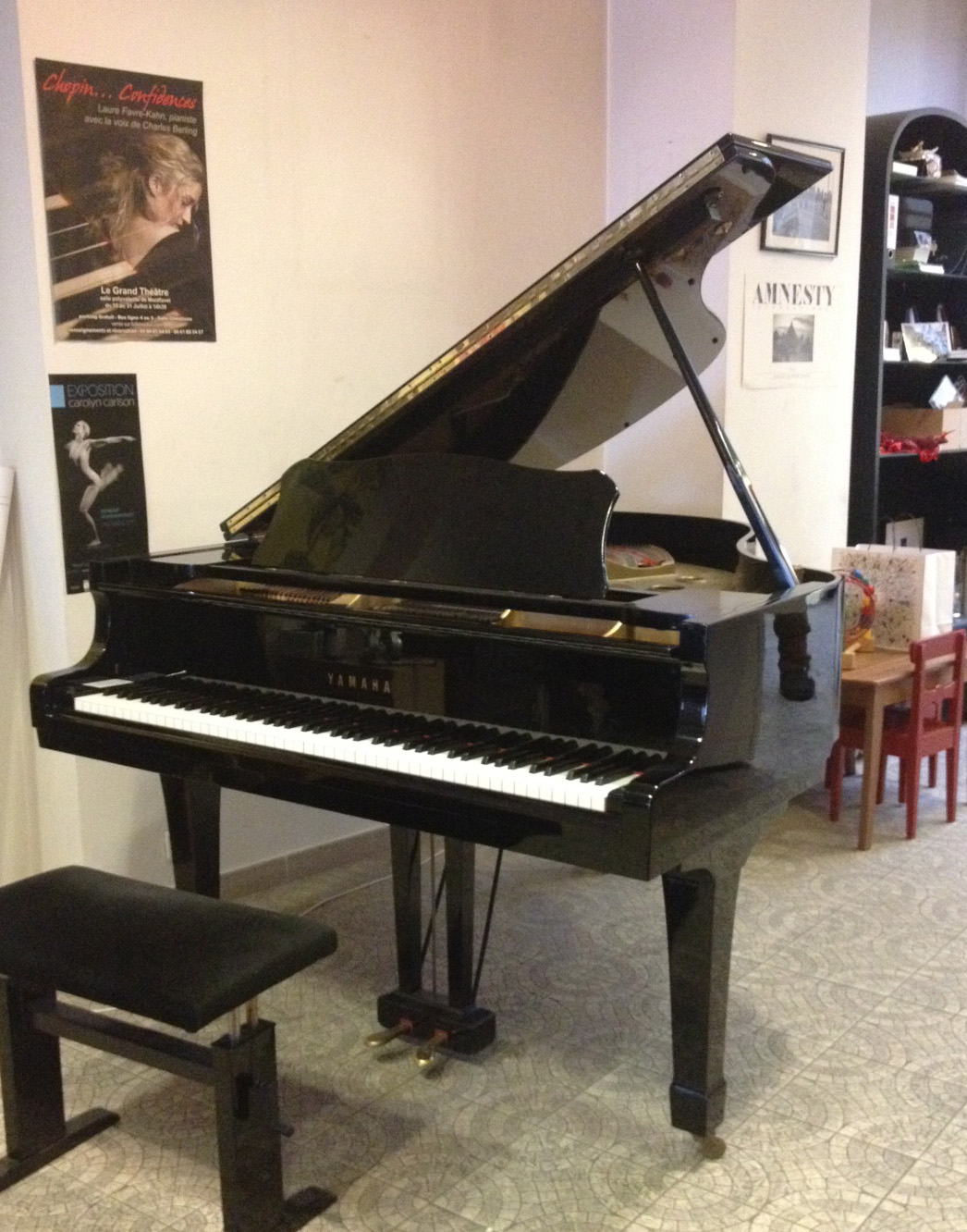 Piano quart de queue d'occasion Yamaha G2 Piano Pulsion Avignon